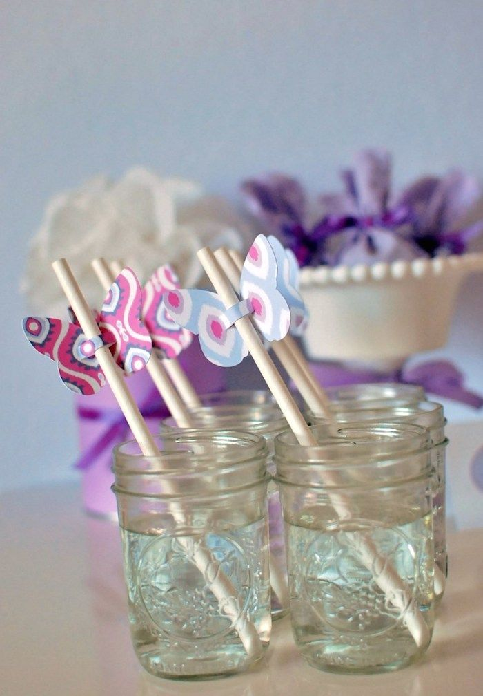 Butterfly themed birthday party with Lots of Cute Ideas via KarasPartyIdeas.com