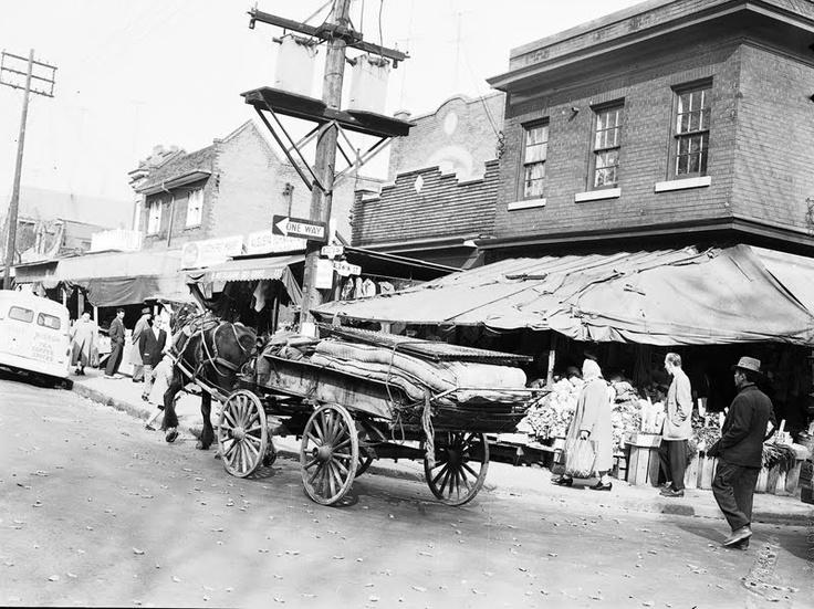 Baldwin & Augusta - Kensington Market 1950s