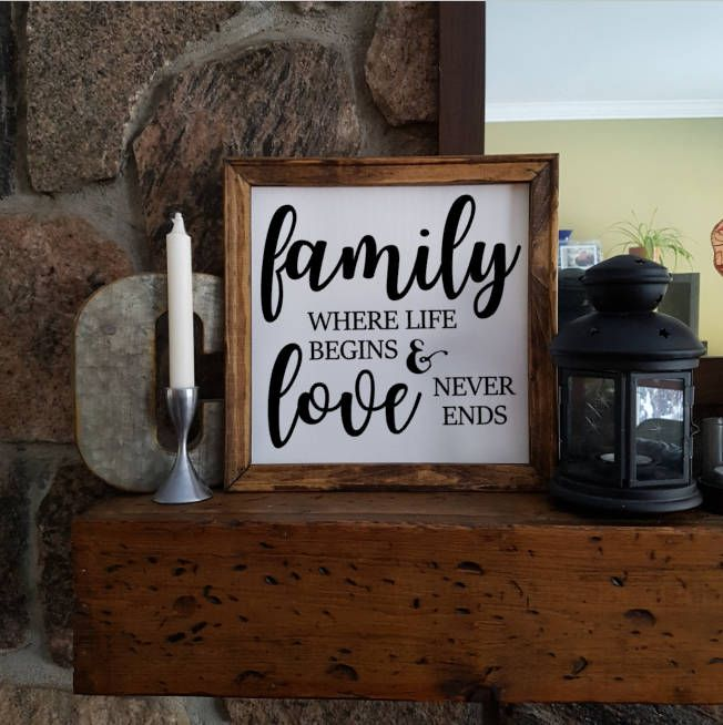 Excited to share the latest addition to my #etsy shop: Reverse Canvas - 10x10 - Family and Love - Rustic - Paint - Stained Frame - Wood - Farm House Style http://etsy.me/2C8ns57 #art #mixedmedia #white #black #canvas #reversecanvas #paint #wood #homedecor