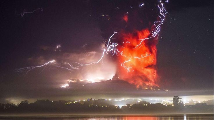 Ensenada, Chile, 'Ghost Town' After Twin Volcanic Eruptions Blanket Area in Ash - weather.com