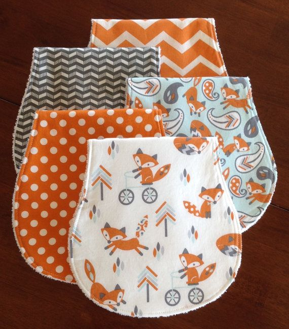 Burp Cloths-Boy Burp Cloths-Woodland Burp Cloth-Burp by bbsprouts