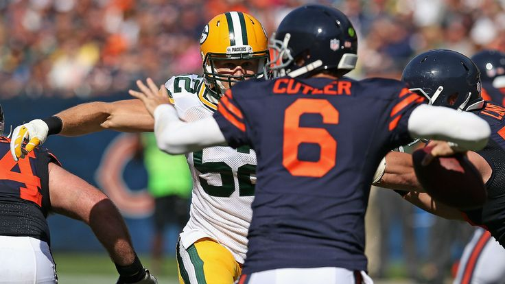 Clay Matthews will miss getting 'a lot of sacks' against Jay Cutler