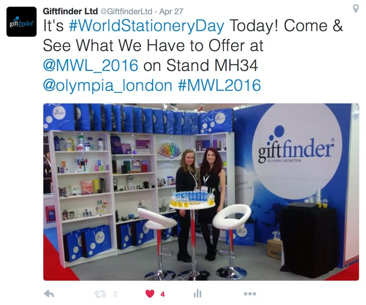 Awesome Couple of Days at Olympia London for #MWL16 #promotional #merchandise #branding #advertising #promotionalproducts #logo #design #lovemerch