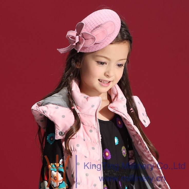 (28.83$)  Watch here - http://ai15u.worlditems.win/all/product.php?id=32232059900 - Children Girl Hair Accessories 2014 Winter New Children Pageant Party Hair bands 100% Pink Wool Headbands Free Shipping