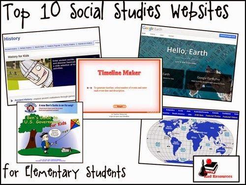 Top 10 Social Studies Websites for Elementary Students