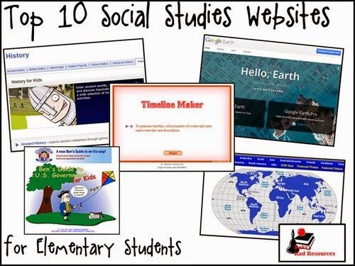 Top 10 Social Studies Websites for Elementary Students
