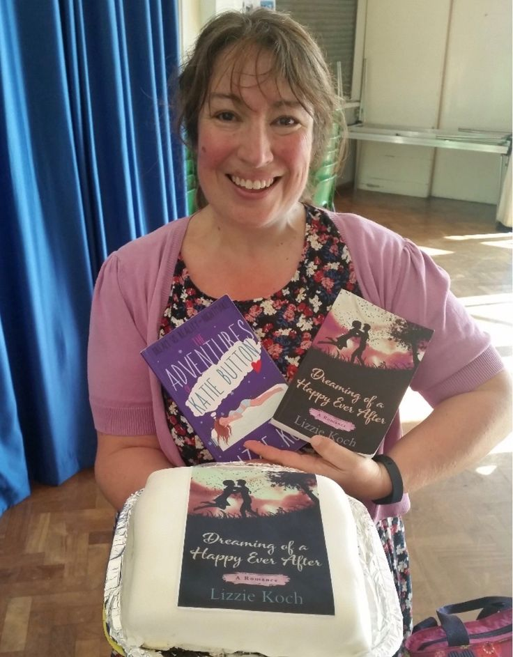 Manor teaching assistant Lizzie Koch celebrates publication of her second book.