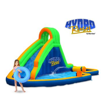 With a Water Slide, Splash Area, Water Cannon and Climber, The Hydro Rush Water Park has Multiple Activities to Keep Kids Entertained. ✓ FREE SHIPPING