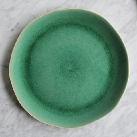 Bord Maguelone smaragdgroen