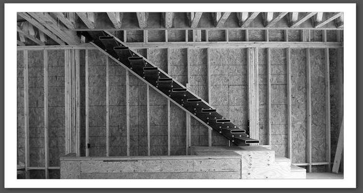 17 meilleures id es propos de poutre m tallique sur pinterest poutre acie - Escalier fixe au mur ...