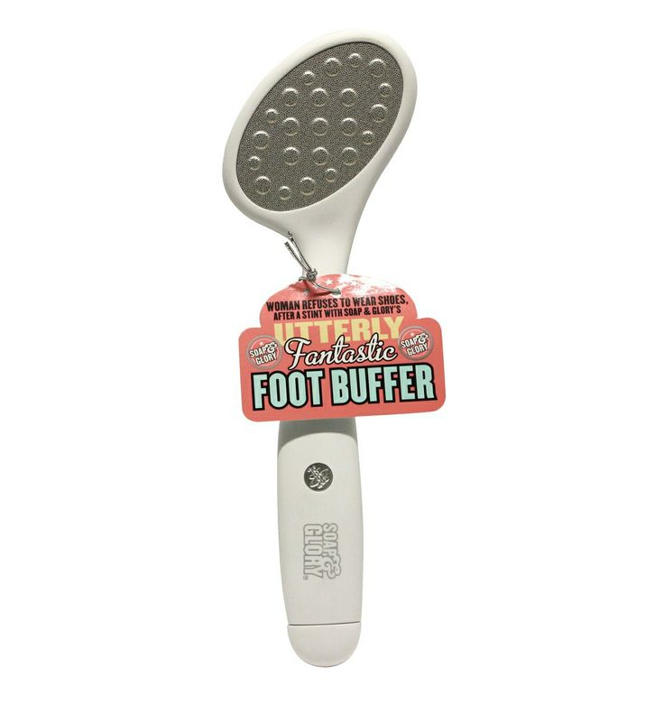 Soap and Glory foot buffer £8.75