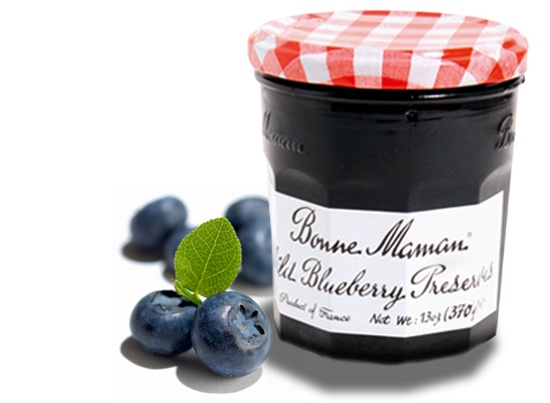 Bonne Maman Wild Blueberry - my favorite preserves ever.  The Cherry Preserves is my 2nd choice.