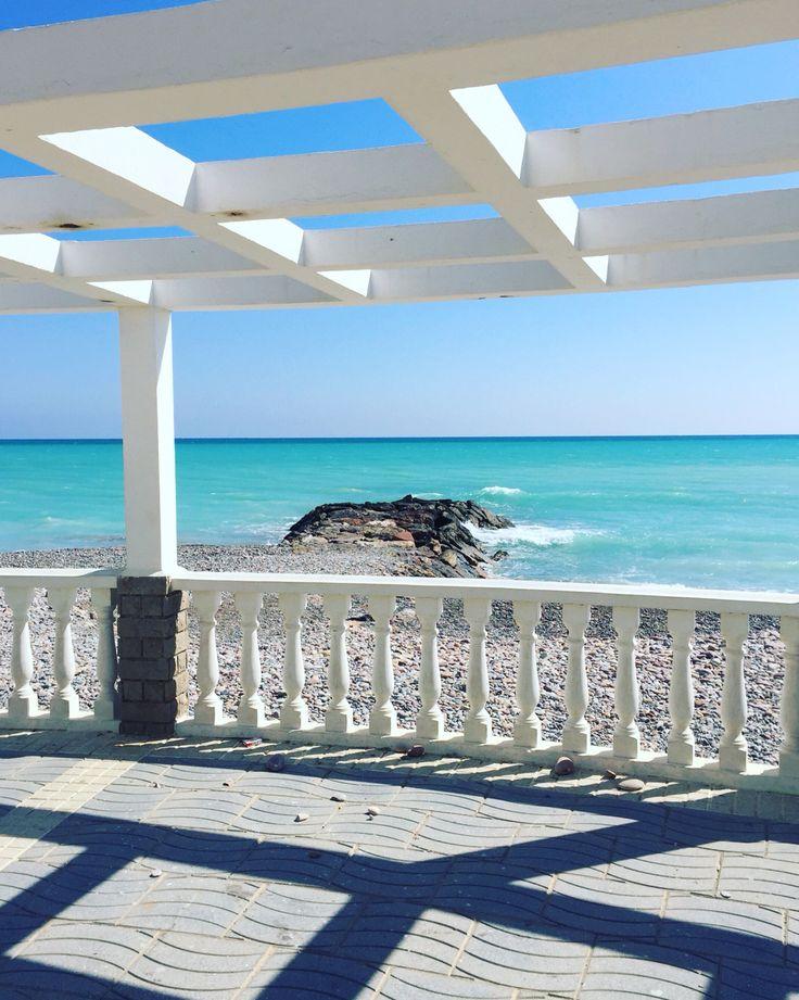 Paseo maritimo Moncofa, el mejor mirador al mediterraneo. #Moncofa