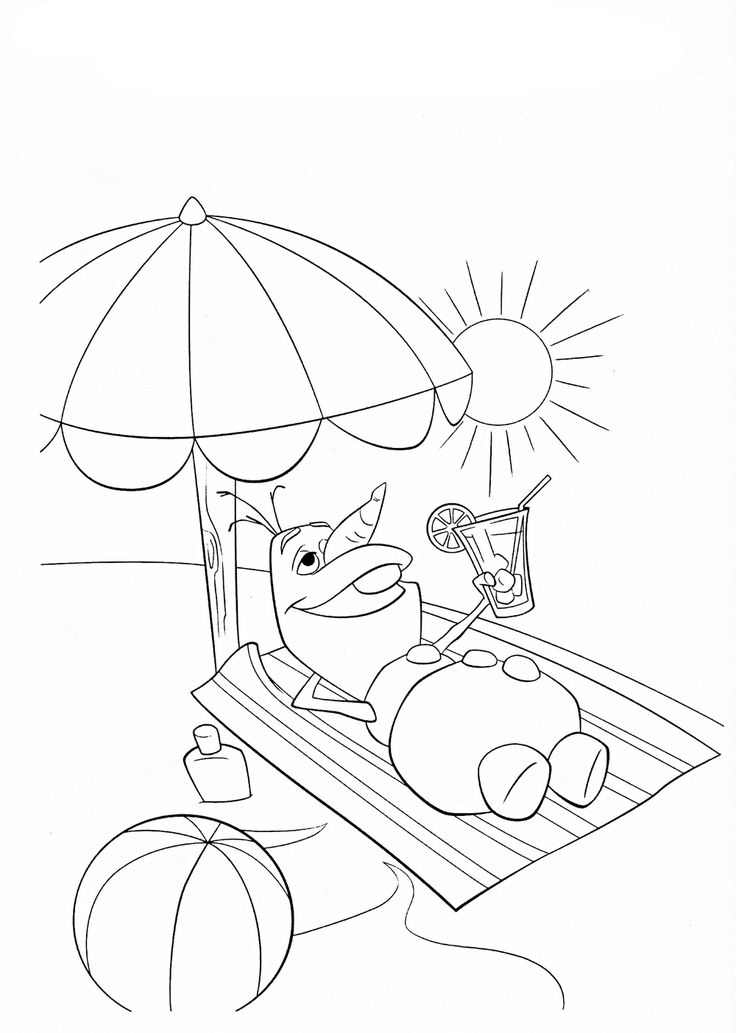 olaf coloring pages google search - Olaf Coloring Book