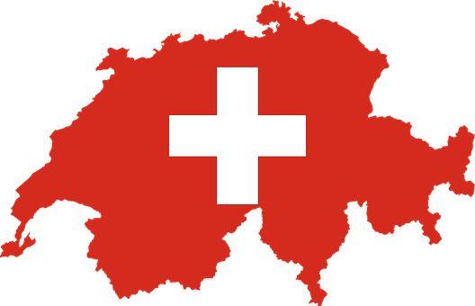 Schweiz, Land, Europa, Flagge