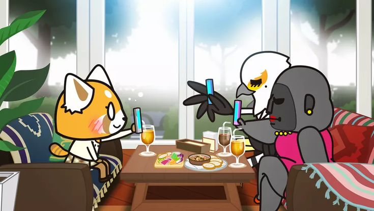 Imperfect relationships are at the heart of aggretsuko