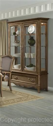 Chambord - Champagne - Buffet and Hutch – Regency Furniture