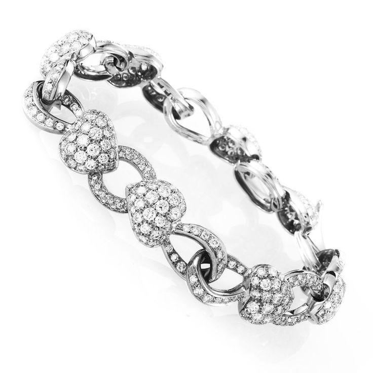 41 best Diamond Bracelets images on Pinterest | Diamond bracelets ...