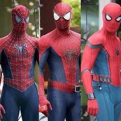 #flashbackfriday @mynaijja Favorite Spider-Man actor? - Follow @mynaijja #naijja - - - - #tomholland #shazam #superman #spiderman #batman #delightful #delight #actors #throwbackfriday #avengers #infinitywar #avengersinfinitywar #avenger #barryallen #theavengers #blackpanther #guardiansofthegalaxy #justiceleague #marvelmovie #teentitans #xmen #wonderwoman2 #geek #mcu #marvelcomics #captainamerica #daredevil #marvelmovies #marvelcinematicuniverse #marvelstudios @marvelstudios…