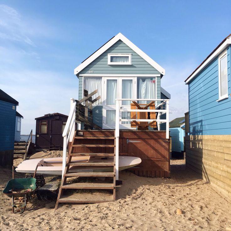 A beautiful beach hut in Dorset