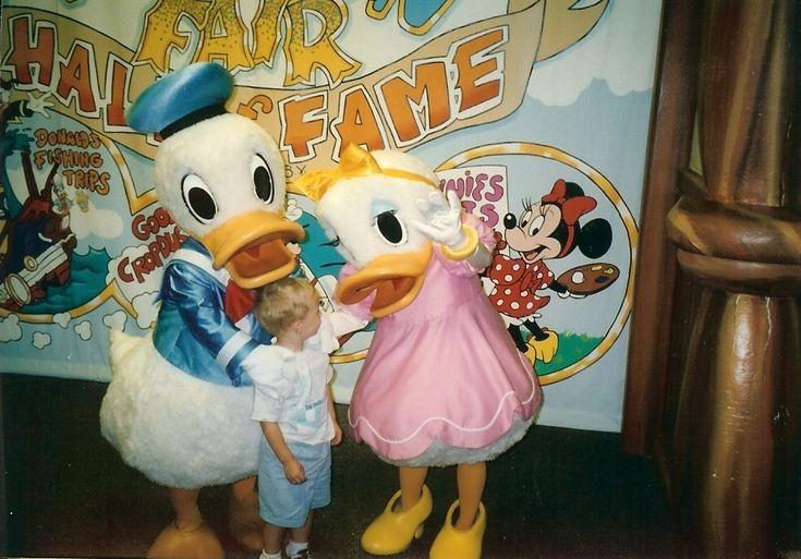 Donald @ Dasiy | Donald & Daisy Duck (old)