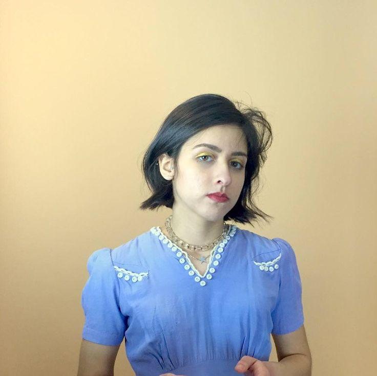 vestido años 30s/ lino de algodón