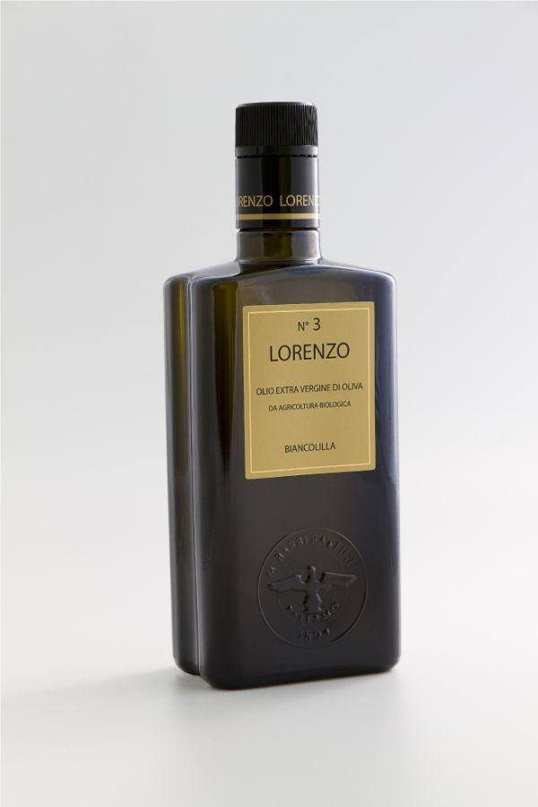 """Oliwa Extra Vergine Bio """"Lorenzo n.3"""" 0,5 L- M. Barbera   Sklep   Najlepszy wybór to jakość   Perla Negra"""