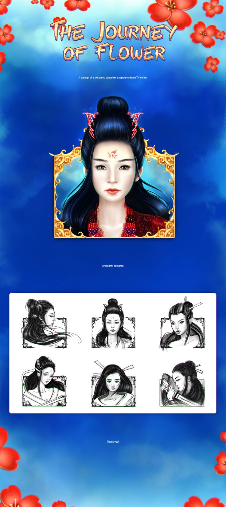 """Check out this @Behance project: """"The Journey of Flower"""" https://www.behance.net/gallery/55692397/The-Journey-of-Flower"""
