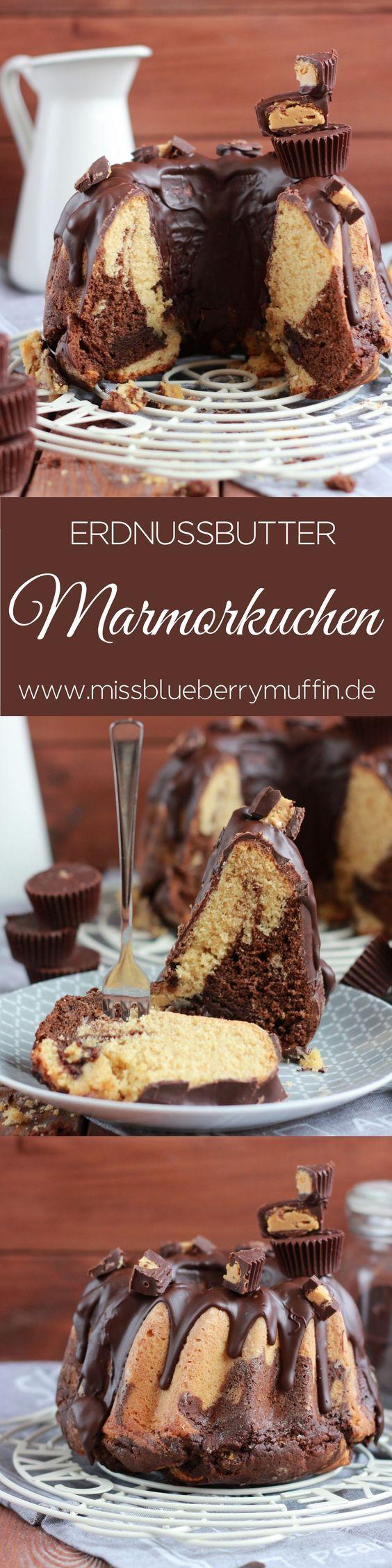 Saftiger Erdnussbutter-Schokoladen-Gugelhupf // Penutbuttercup bundt cake <3