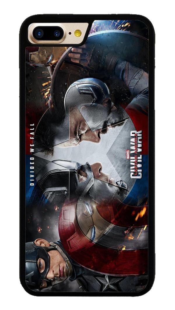 Captain America- Civil War for iPhone 7 Plus Case #CaptainAmerica #ranger #avangers #Marvel #iphone7plus #covercase #phonecase #cases #favella