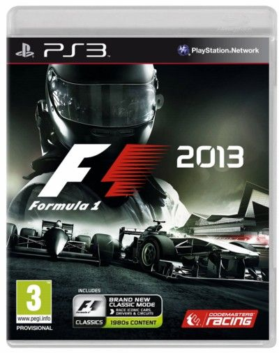 PlayStation: F1 2013 PS3-COLLATERAL