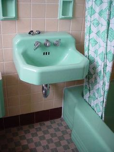 1950s green tub - Google Search