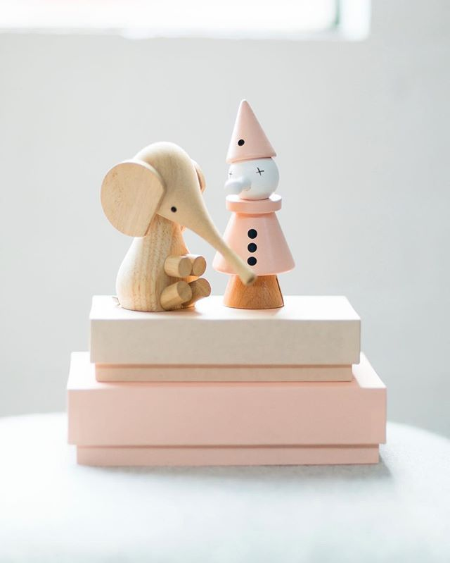Millennial colored wooden baby toys. Scandinavian designed.