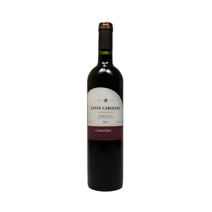 Vinho Santa Carolina Carmenére Varietal, 2011 http://www.buywine.com.br/santa_carolina_carmenere_varietal_2011/p