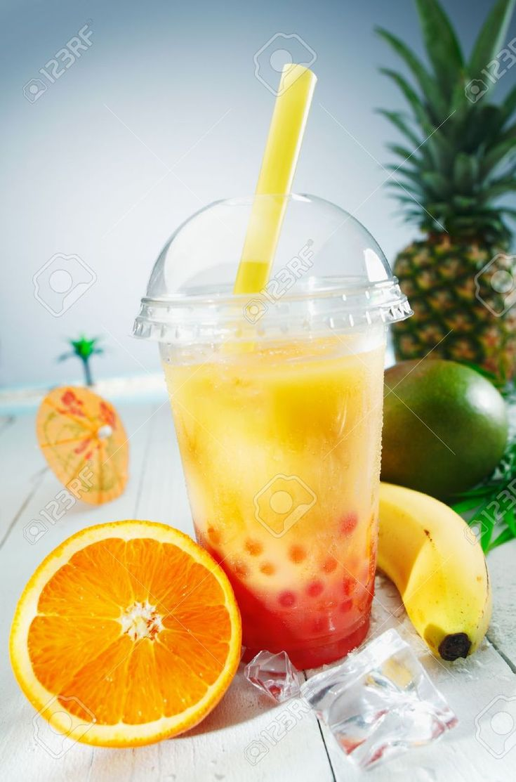 13567036-Healthy-bubble-tea-tropical-fruit-smoothie-with-banana-mango-pineapple-and-orange-blend-Stock-Photo.jpg (859×1300)