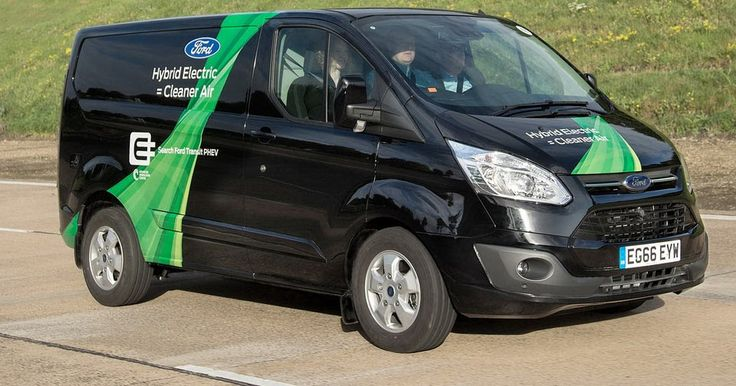 Ford Transit Gains PHEV Range-Extender Version But It's Not For Sale Yet #Ford #Ford_Transit