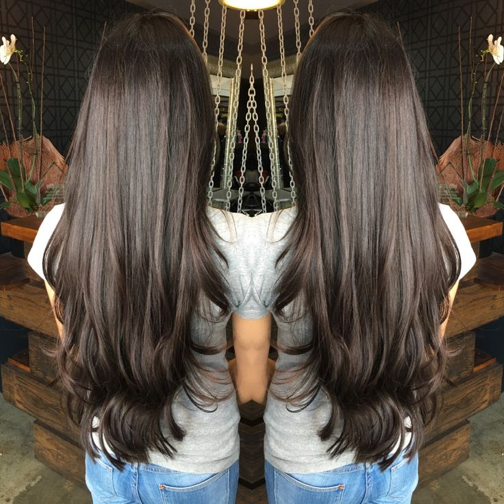 Long hair by Johnny