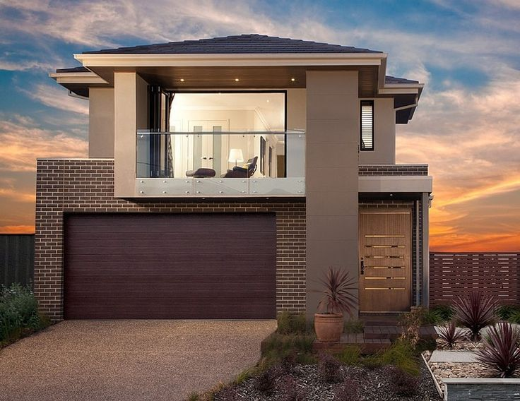 Nice small two-storey property designed by Orbit Homes located in Melbourne's suburb Coburg