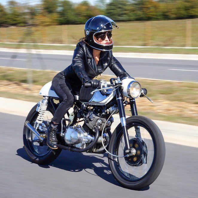 976 vind-ik-leuks, 5 reacties - BikeBound (@bikeboundblog) op Instagram: 'Today on BikeBound.com: 1964 Honda CB160 #caferacer by @kimchi_dreams21 of Arkansas's @jmscustoms…'