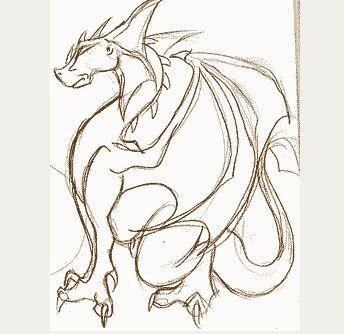 como dibujar dragones