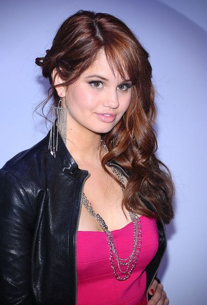"Debby Ryan gives me my inspiration by starring on the show ""Jessie"" and movies such as ""Radio Rebel"" and ""16 Wishes""."