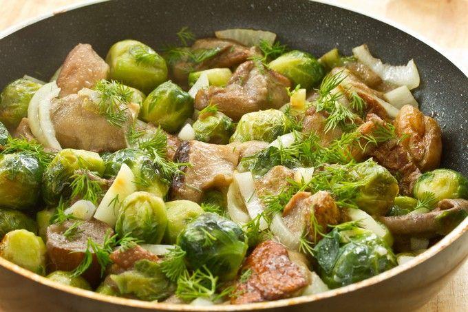 Брюссельская капуста рецепт с фото
