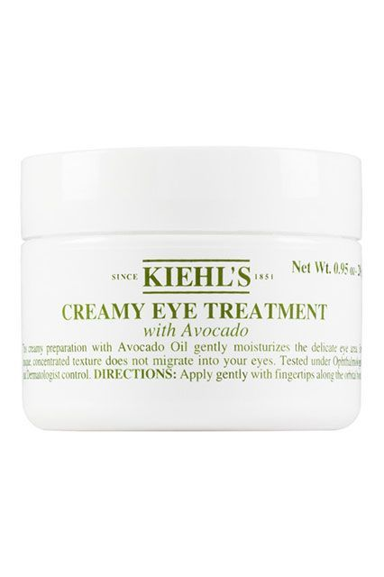 We're a society obsessed with avocado, so why not extend this to our beauty products? This eye treatment from Kiehl's has been on our favorites list forever, and it includes everyone's beloved ingredient.Kiehl's Creamy Eye Treatment with Avocado, $48, available at Kiehl's. #refinery29 http://www.refinery29.com/best-under-eye-cream#slide-1