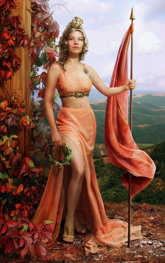 Nike - Greek myth: the goddess of victory