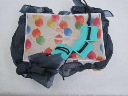 balloons money box