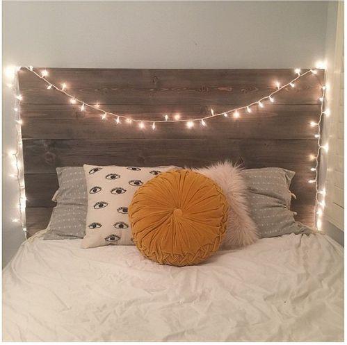 luz cabeceira de cama