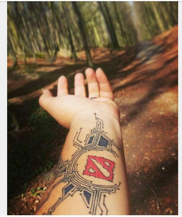 Circuit dota tattoo