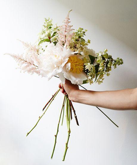 Flower-Arranging Secrets Straight From A Brooklyn Florist #refinery29 http://www.refinery29.com/diy-wedding-bouquets