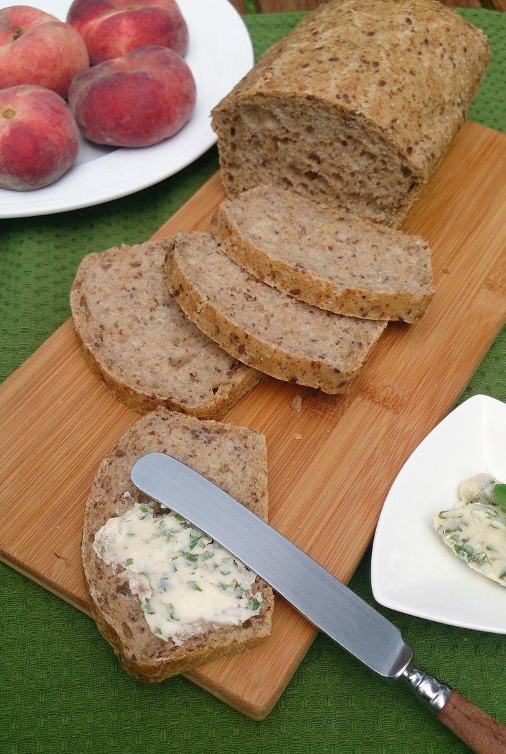 głodny alergik :): Bezglutenowy chleb wieloziarnisty z amarantusem (bez glutenu, mleka i jajek)