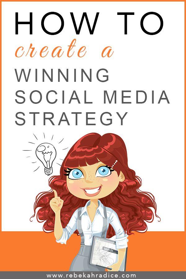 10 steg för att skapa en vinnande social mediastrategi :)
